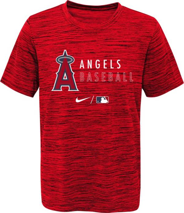 Outerstuff Youth Los Angeles Angels Red Velocity Practice T-Shirt product image