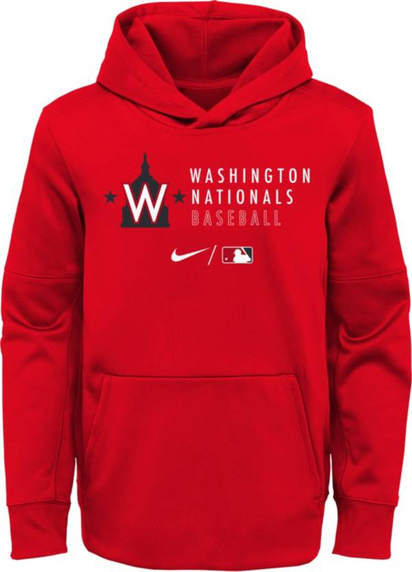 Outerstuff Youth Washington Nationals Red Therma-FIT Hoodie product image