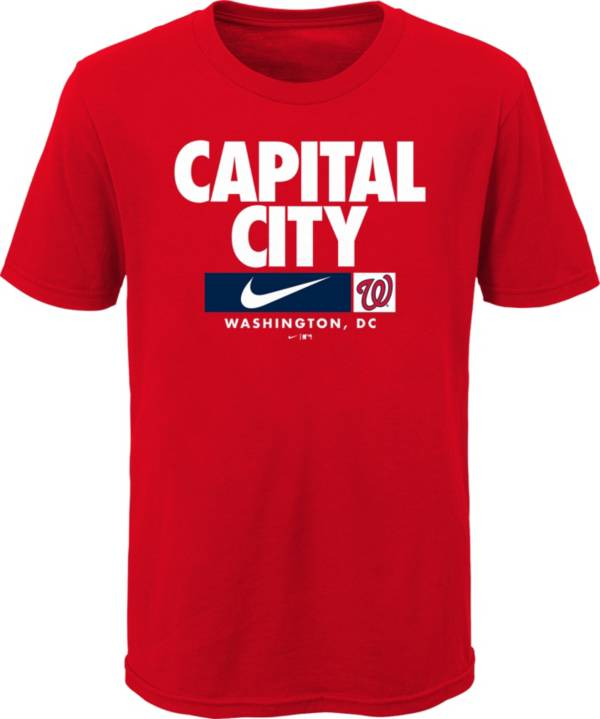 Nike Youth Washington Nationals Red Local Legend T-Shirt product image