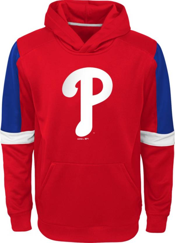 Gen2 Youth Philadelphia Phillies Red Base Up Pullover Hoodie product image