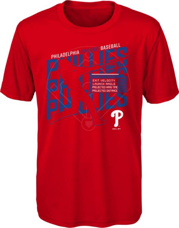 Gen2 Youth Philadelphia Phillies Red Matrix T-Shirt product image