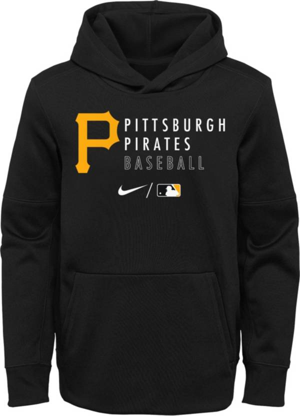 Outerstuff Youth Pittsburgh Pirates Black Therma-FIT Hoodie product image