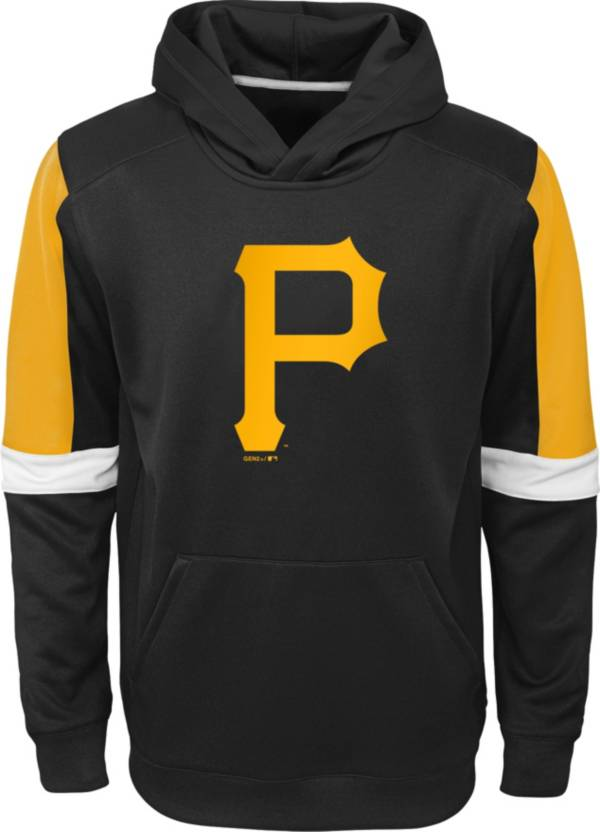 Gen2 Youth Pittsburgh Pirates Black Base Up Pullover Hoodie product image