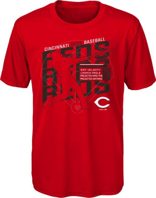 Gen2 Youth Cincinnati Reds Red Matrix T-Shirt product image