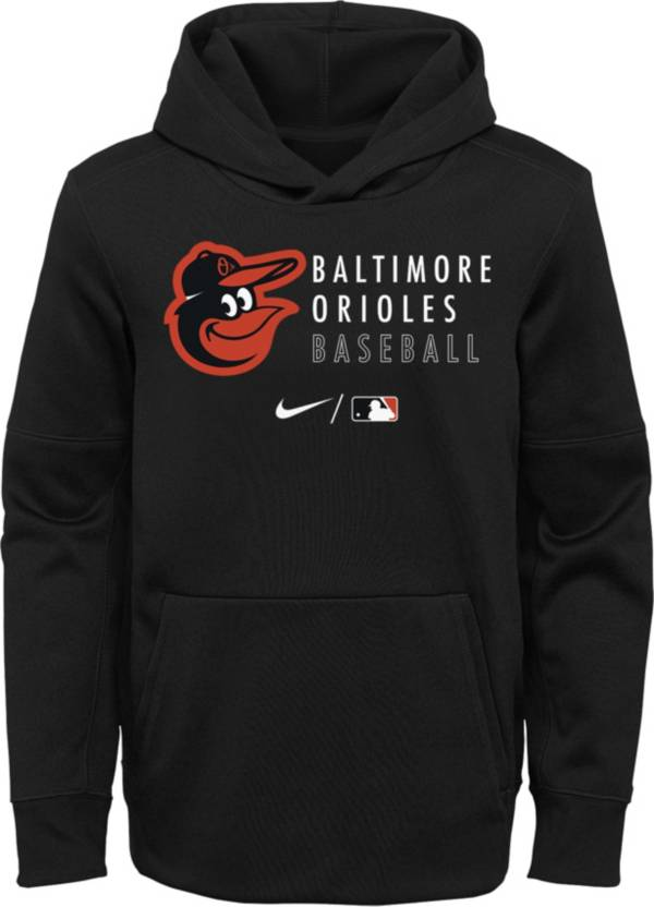 Outerstuff Youth Baltimore Orioles Black Therma-FIT Hoodie product image