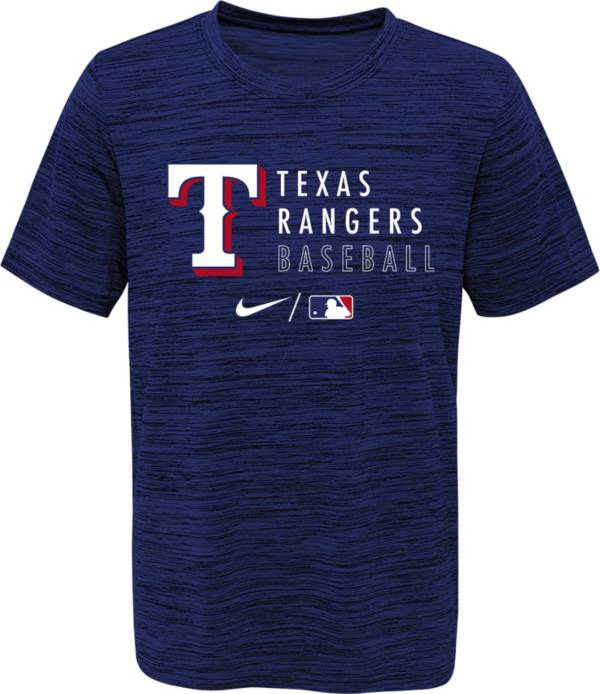 Outerstuff Youth Texas Rangers Blue Velocity Practice T-Shirt product image