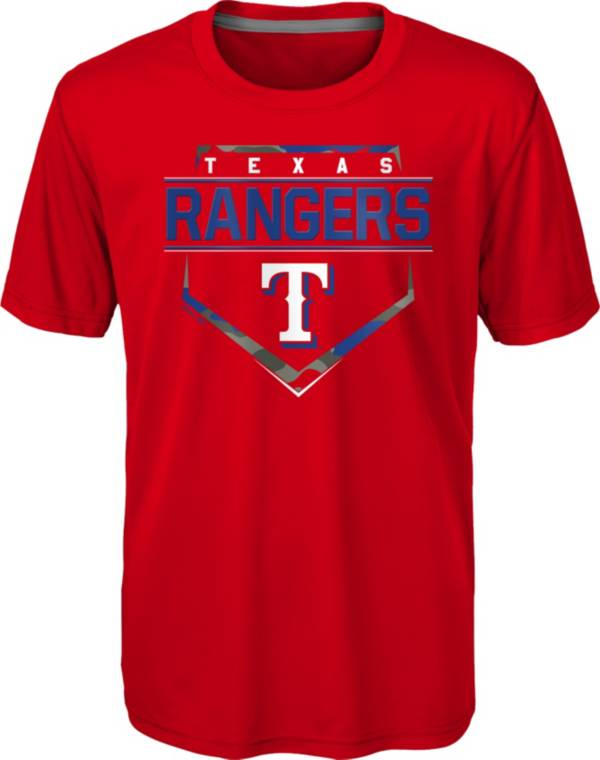 Gen2 Youth Texas Rangers Red Eat My Dust T-Shirt product image