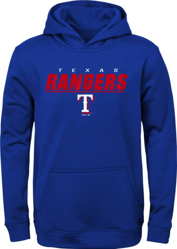 Gen2 Youth Texas Rangers Static Red Pullover Hoodie product image