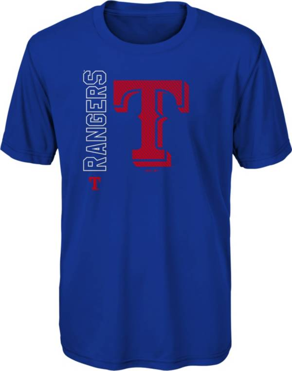 Gen2 Youth Texas Rangers Royal Double Header T-Shirt product image
