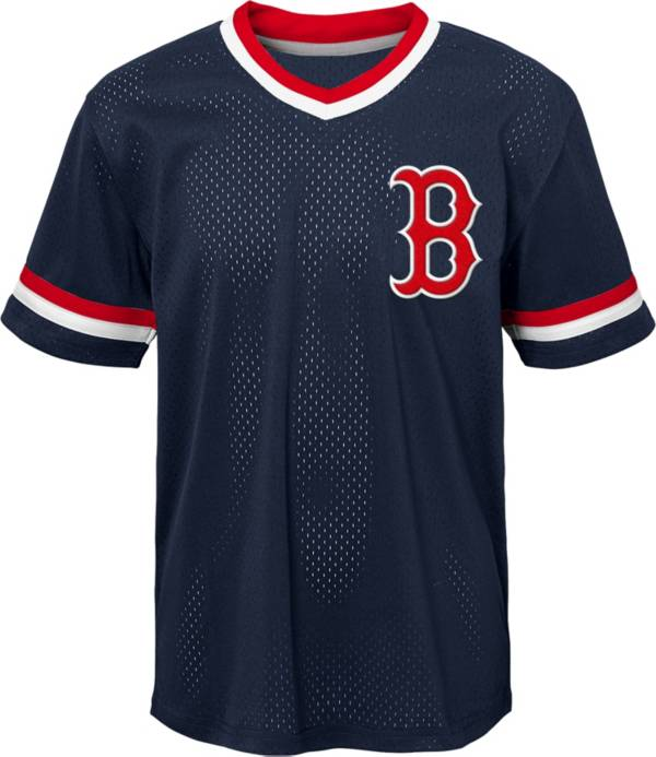 Gen2 Youth Boston Red Sox Navy Cooperstown V-Neck Pullover Jersey product image