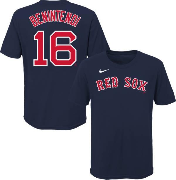 Nike Youth Boston Red Sox Andrew Benintendi #16 Navy T-Shirt product image