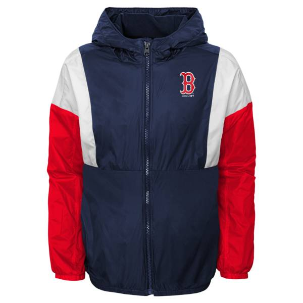 Gen2 Youth Boston Red Sox Red Long Sleeve Windbreaker Jacket product image