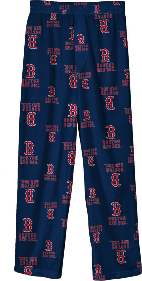 Outerstuff Youth Boston Red Sox Navy Logo Print Sleep Pant product image