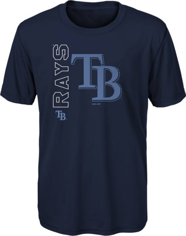 Gen2 Youth Tampa Bay Rays Navy 4-7 Double Header T-Shirt product image