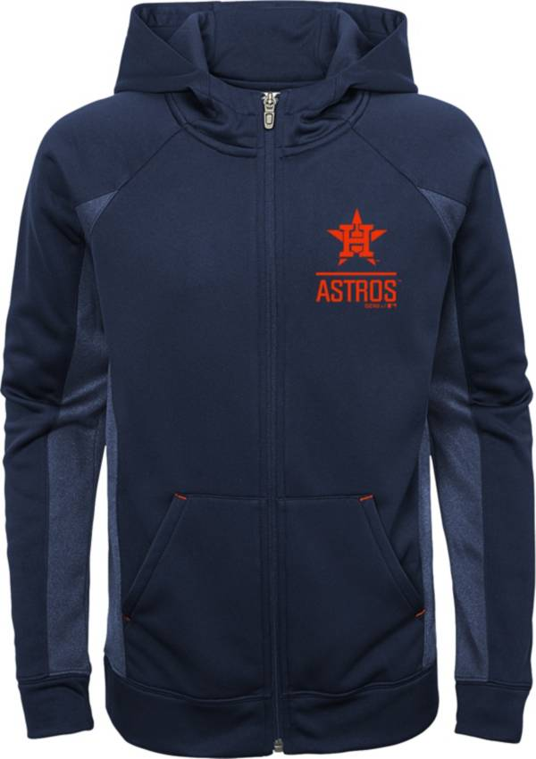 Gen2 Youth Houston Astros Navy No Glory Long Sleeve Full-Zip Jacket product image