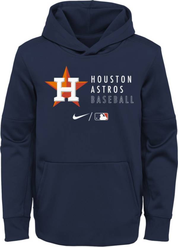 Outerstuff Youth Houston Astros Navy Therma-FIT Hoodie product image