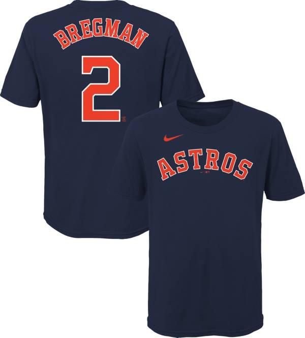 Nike Youth Houston Astros Alex Bregman #2 Navy T-Shirt product image