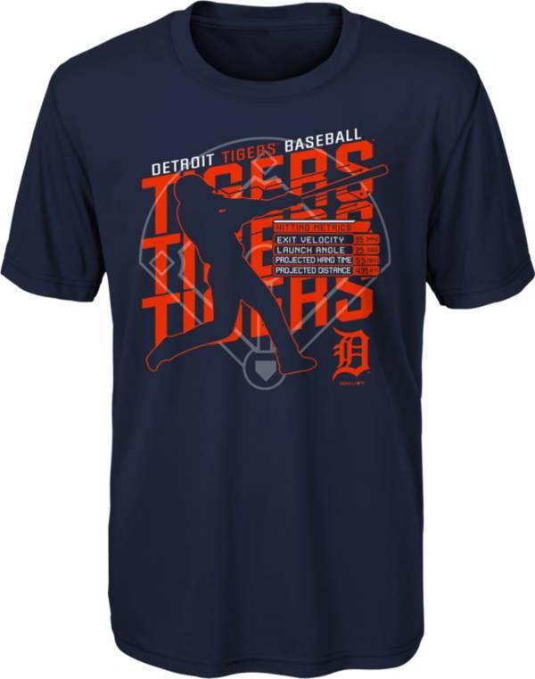 Gen2 Youth Detroit Tigers Navy Matrix T-Shirt product image