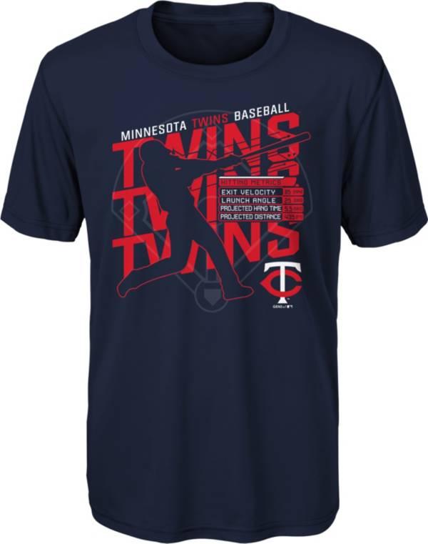 Gen2 Youth Minnesota Twins Navy Matrix T-Shirt product image
