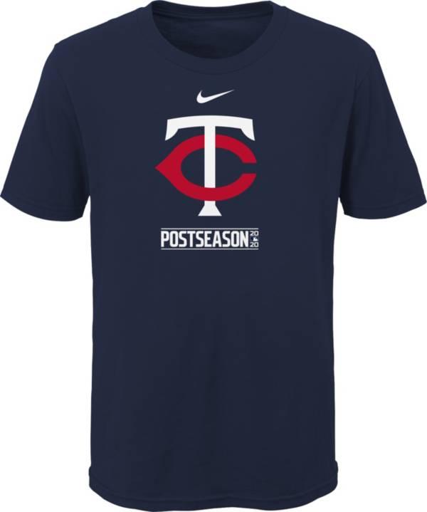 Nike Youth 2020 Postseason Minnesota Twins Navy T-Shirt product image