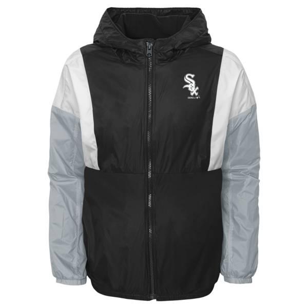 Gen2 Youth Chicago White Sox Black Long Sleeve Windbreaker Jacket product image