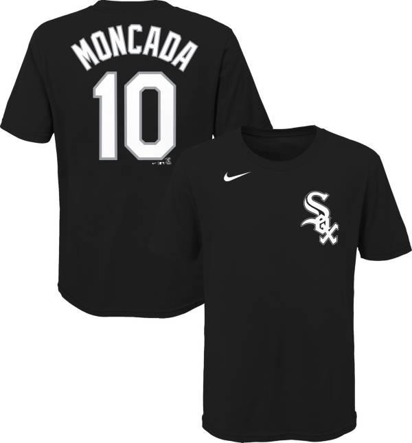 Nike Youth Chicago White Sox Yoan Moncada #10 Black T-Shirt product image