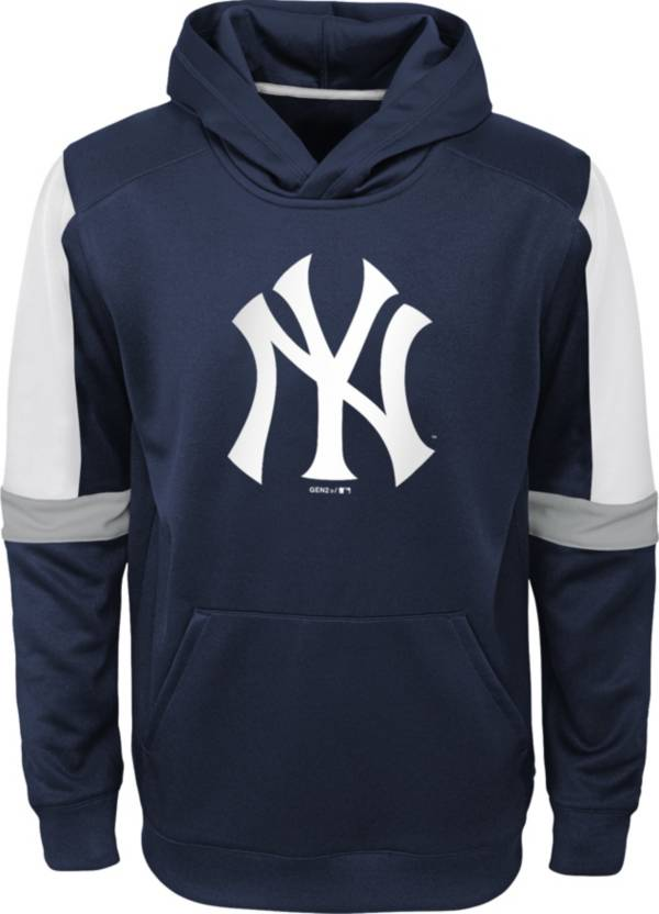 Gen2 Youth New York Yankees Navy Base Up Pullover Hoodie product image