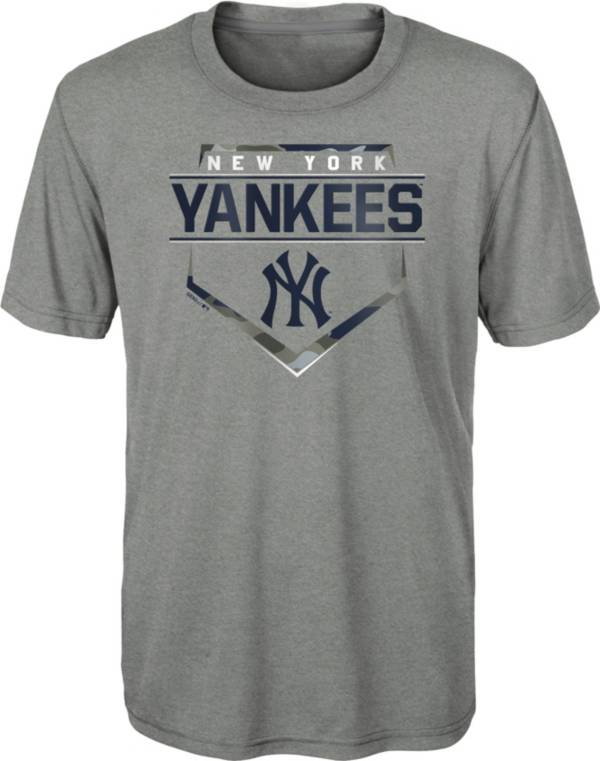Gen2 Youth New York Yankees Gray Eat My Dust T-Shirt product image