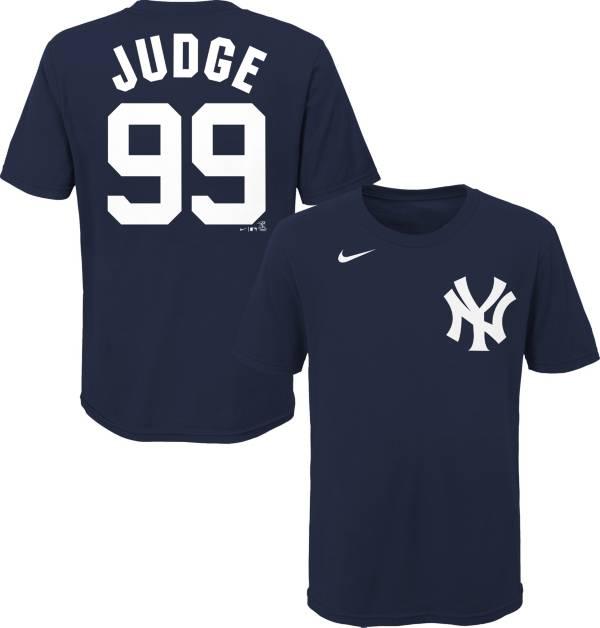 Nike Youth New York Yankees Aaron Judge #99 Navy 4-7 T-Shirt product image
