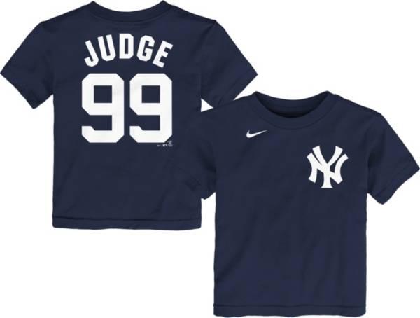 Nike Youth Toddler New York Yankees Aaron Judge #99 Navy T-Shirt product image