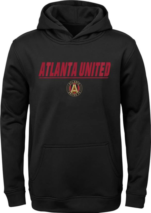 MLS Youth Atlanta United Static Red Performance Pullover Hoodie product image