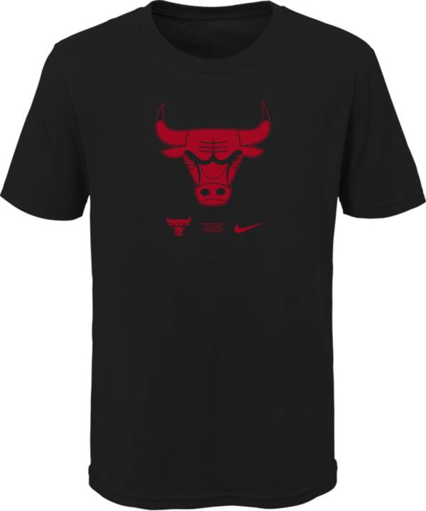 Nike Youth Chicago Bulls Black Logo T-Shirt product image