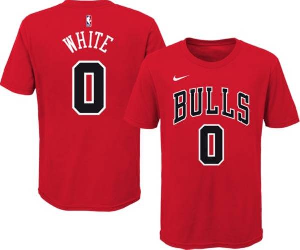 Nike Youth Chicago Bulls Coby White #0 Red Cotton T-Shirt product image