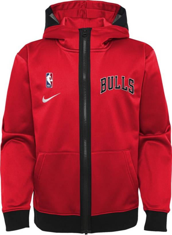 Nike Youth Chicago Bulls Red Spotlight Full-Zip Hoodie product image