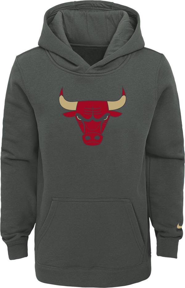 Nike Youth 2020-21 City Edition Chicago Bulls Logo Pullover Hoodie product image