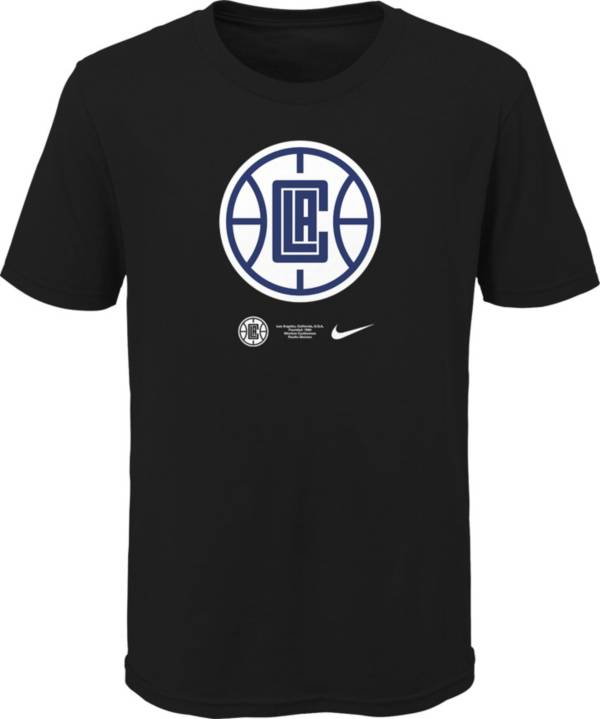 Nike Youth Los Angeles Clippers Blue Logo T-Shirt product image