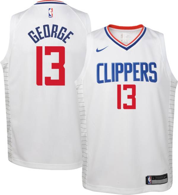 Nike Youth Los Angeles Clippers Paul George #13 Dri-FIT Swingman White Jersey product image