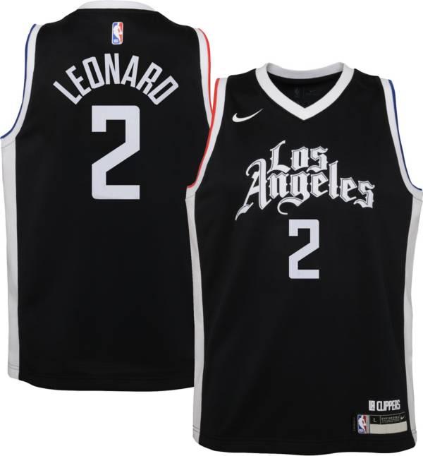 Nike Youth 2020-21 City Edition Los Angeles Clippers Kawhi Leonard #2 Dri-FIT Swingman Jersey product image