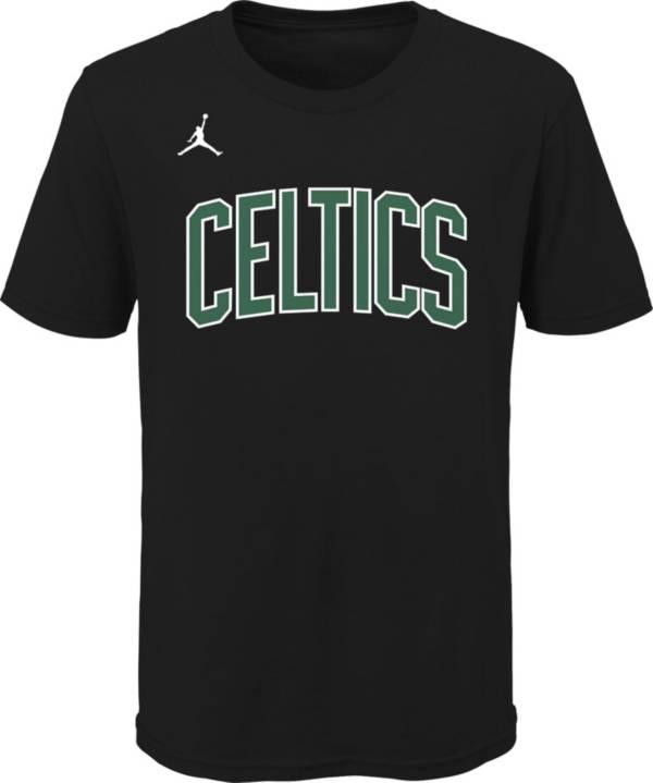 Jordan Youth Boston Celtics Black Statement T-Shirt product image