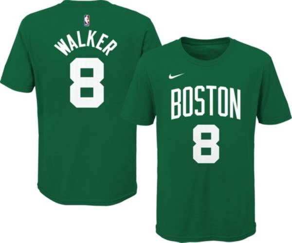 Nike Youth Boston Celtics Kemba Walker #8 Green Cotton T-Shirt product image