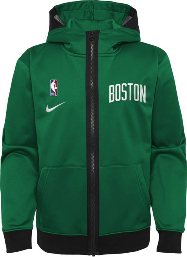 Nike Youth Boston Celtics Green Spotlight Full-Zip Hoodie product image