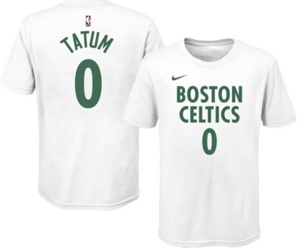 Nike Youth 2020-21 City Edition Boston Celtics Jayson Tatum #0 Cotton T-Shirt product image