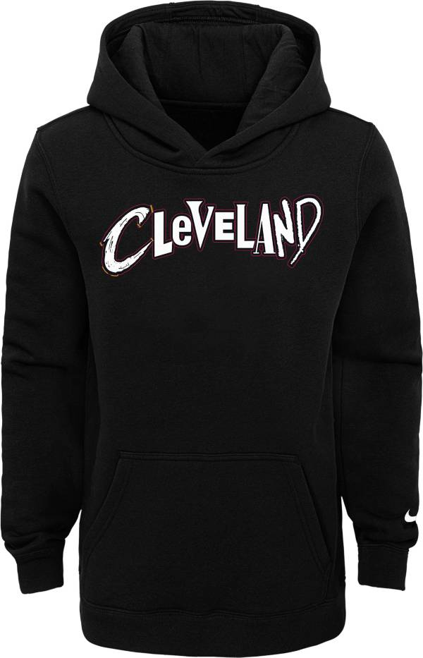Nike Youth 2020-21 City Edition Cleveland Cavaliers Logo Pullover Hoodie product image