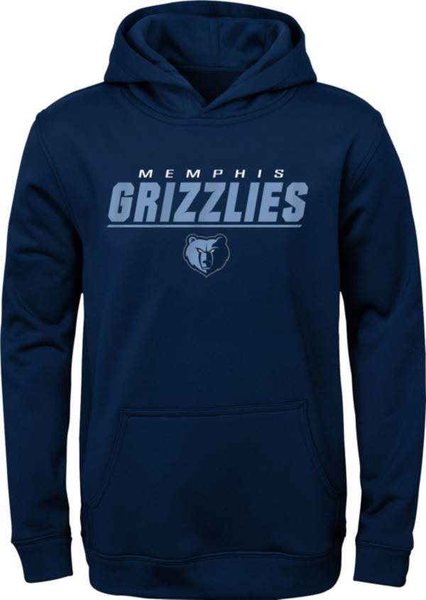 Gen2 Youth Memphis Grizzlies Blue Static Pullover Hoodie product image