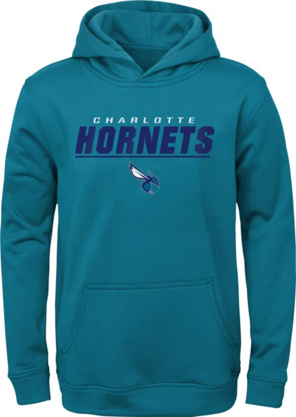 Gen2 Youth Charlotte Hornets Blue Static Pullover Hoodie product image