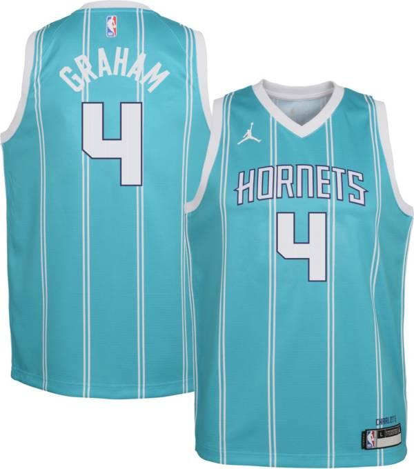 Charlotte Hornets Devonte Graham Statement Purpe Swingman Jersey