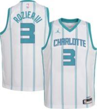 Jordan Youth Charlotte Hornets Terry Rozier III #3 Dri-FIT Swingman White Jersey