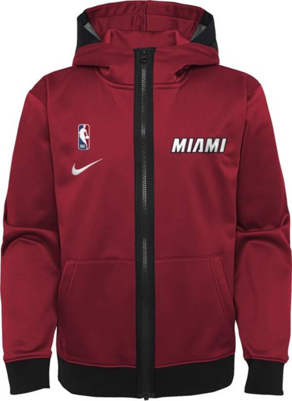 Nike Youth Miami Heat Red Spotlight Full-Zip Hoodie product image