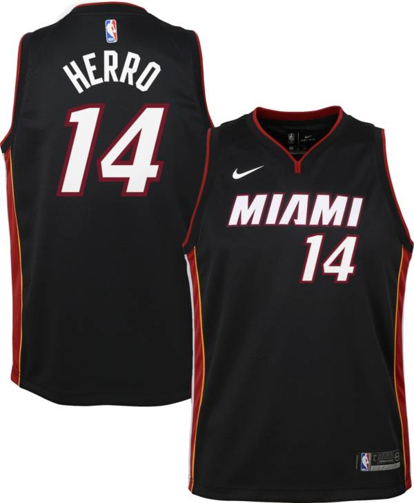 Nike Youth Miami Heat Tyler Herro #14 Dri-FIT Icon Swingman White Jersey product image