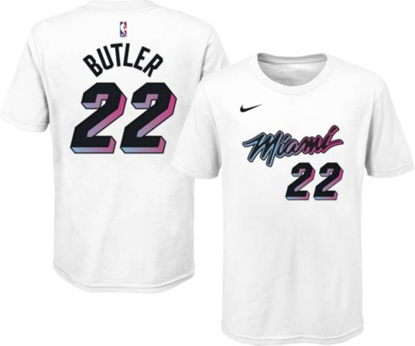 Nike Youth 2020-21 City Edition Miami Heat Jimmy Butler #22 Cotton T-Shirt product image